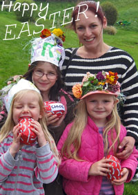click here to see the Easter egg hunt pics