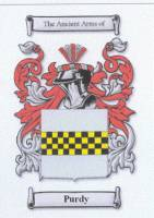 Purdy family coat of arms from www.houseofnames.com