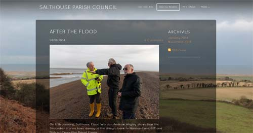 Salthouse Parish Council Website