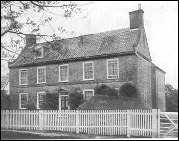 Samuel Perfrement's farmhouse, Dumpling Green, Norfolk
