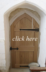 click here to see the new Priest's door nearly complete!