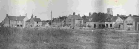 after the 1953 flood the houses lining the coast road had all their interiors ruined and their  front out-houses turned into  rubble
