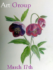 click on Sue's anemones to see latest Salthouse art group efforts!
