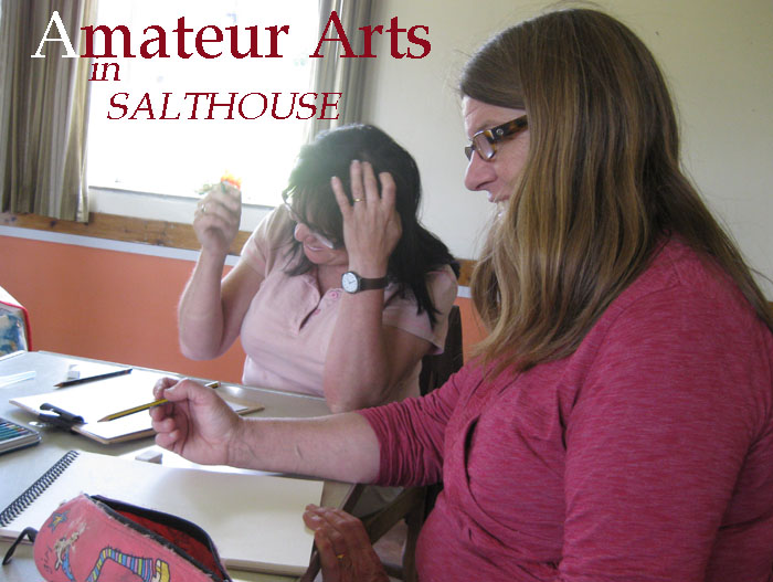 Newly founded friendly unpretentious Salthouse village art group