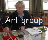 art group March 24th click on Edna!