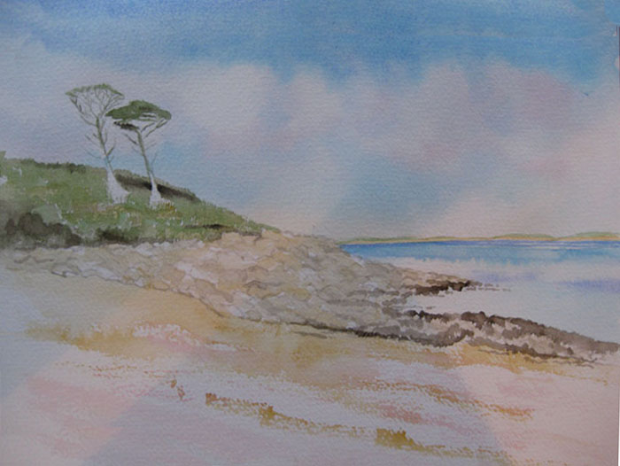 Jacqui's new watercolour