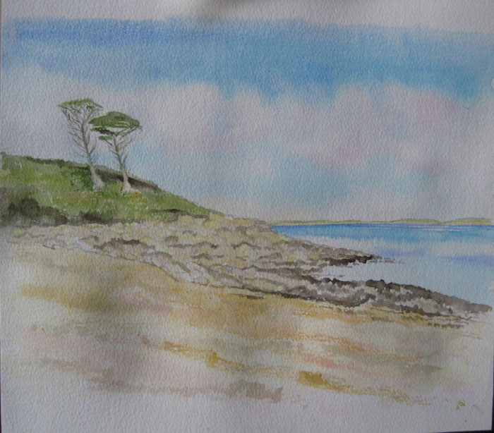Jacqui's rocky beach finished