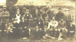 Hall farm workers and staff 1908