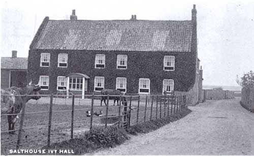 Salthouse Hall before the First World War