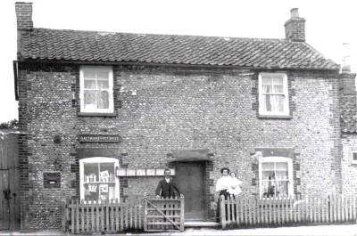 Salthouse post office 1908