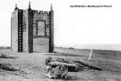 Randall's Folly after the BOard of Trade had made it into a Rocket Brigade House