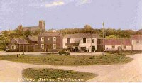 The village green and post offices stores c 1956