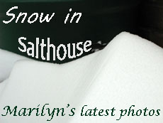 click here to see a few Salthouse in the snow pictures